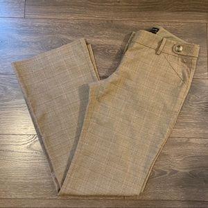 The Limited Lexie Fit Plaid Dress Pants, Size 2